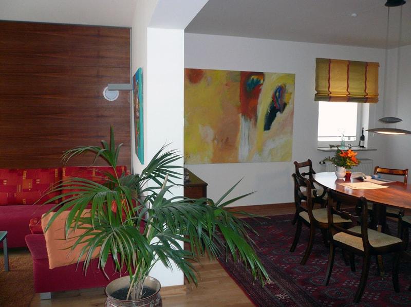 Neugestaltung eines Wohnbereiches – Übergang Wohn/ Essbereich