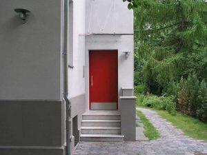 Eingang Rote Tür