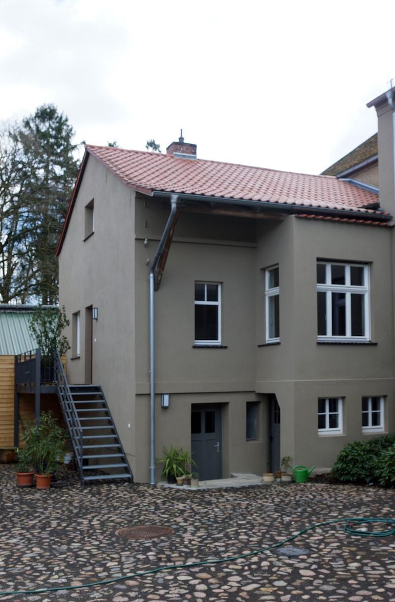 Vierseitenmühlenhof in Gräben / Brandenburg – Anbau mit Ferienwohnung
