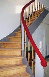 Farbgebung Treppe