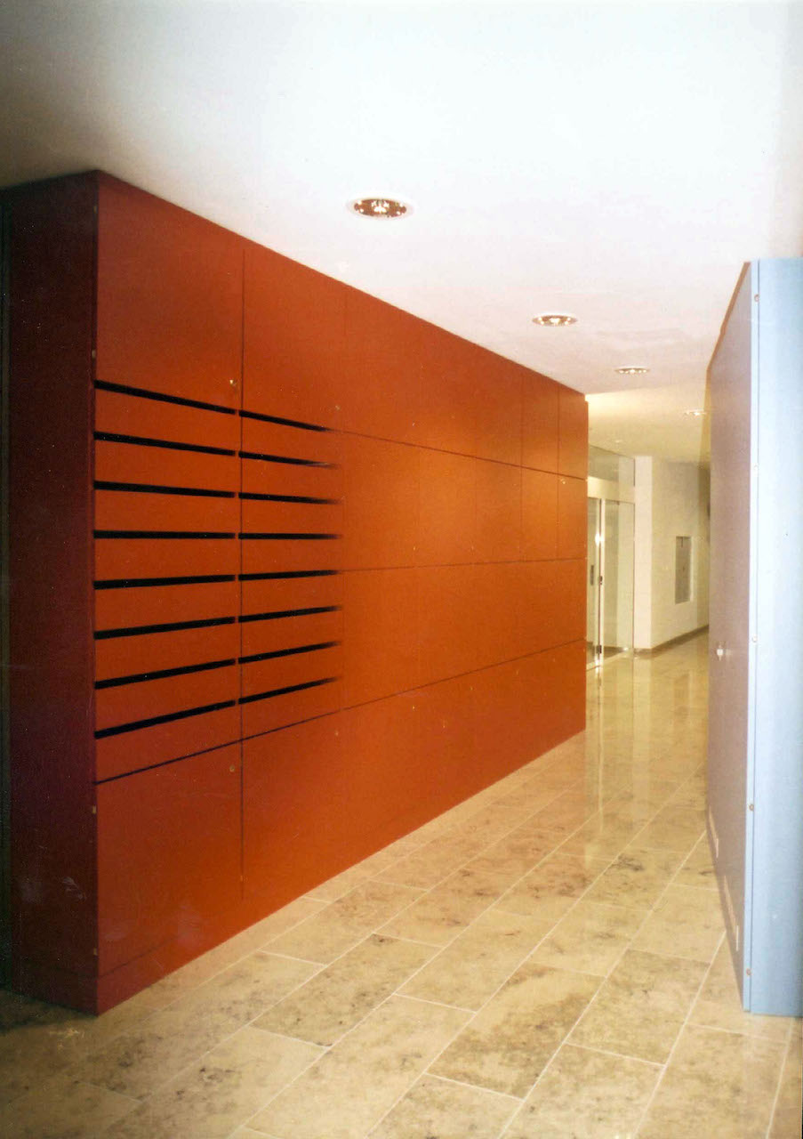 Foyergestaltung Jenapharm AG, Jena – Postbox