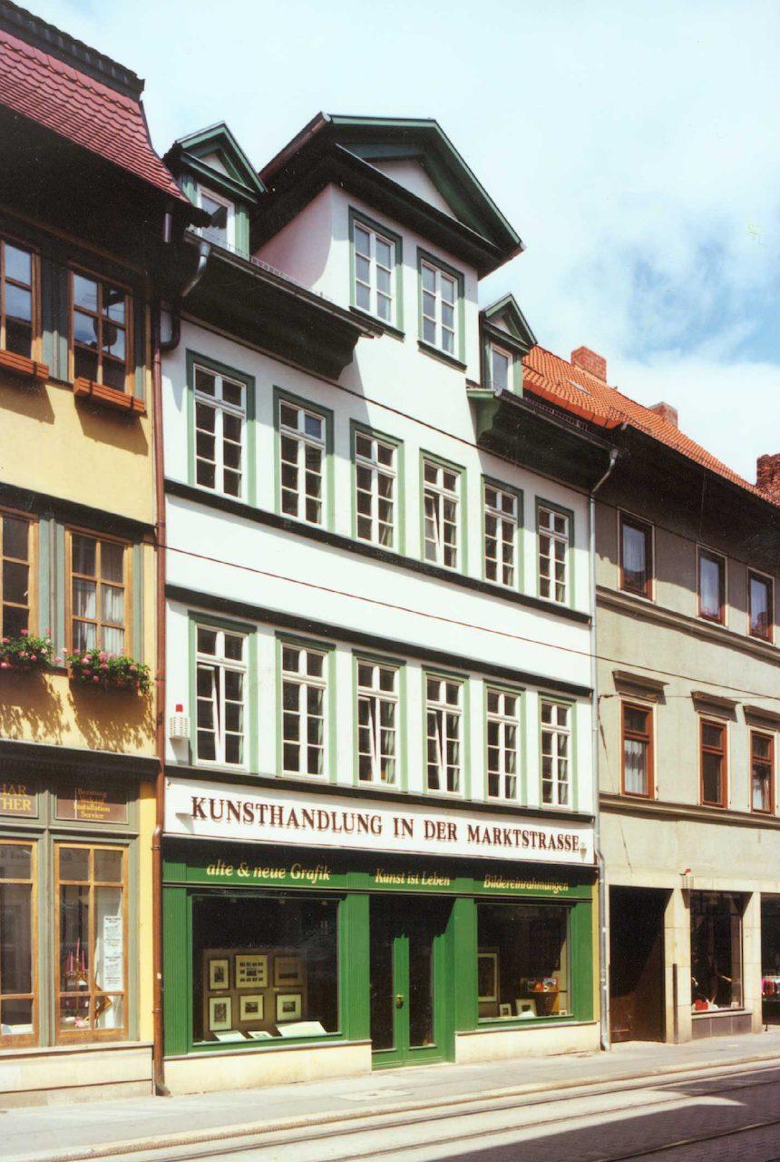 Wohn- und Geschäftshaus Marktstraße 53 in Erfurt – Fassade