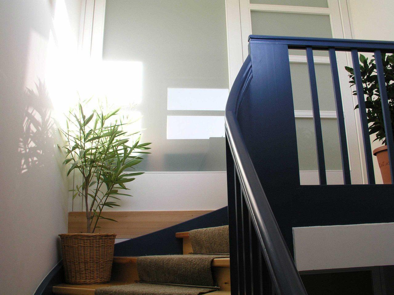 Wohnhaus für zwei Familien in Berlin Umbau – Neuer Aufgang