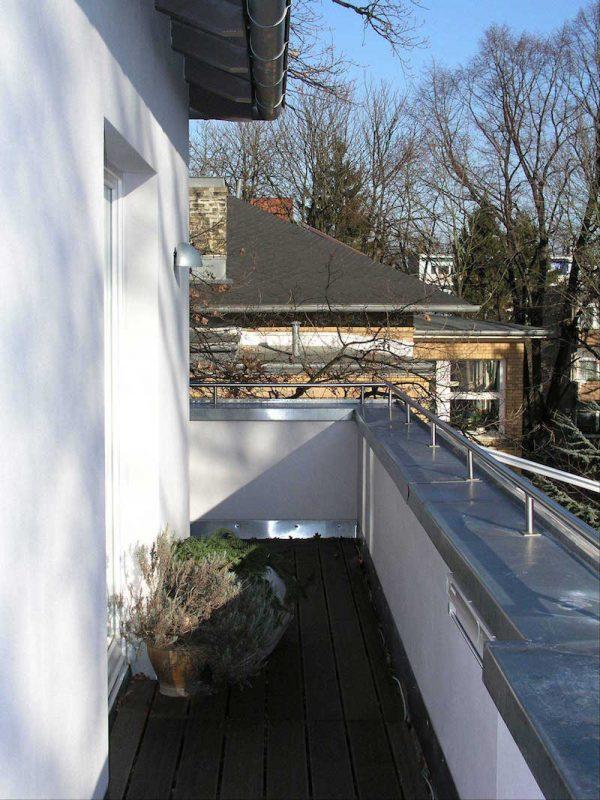 Wohnhaus für zwei Familien in Berlin Umbau – Staffelgeschoss