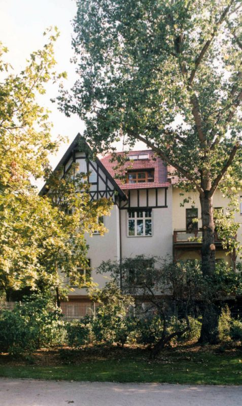 Jugenstilvilla in Erfurt  – Gartenansicht