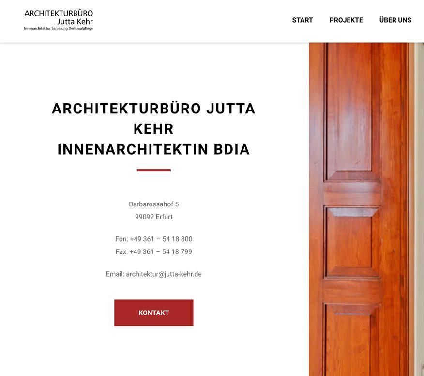 Innenarchitektur Erfurt architekturbüro jutta kehr erfurt