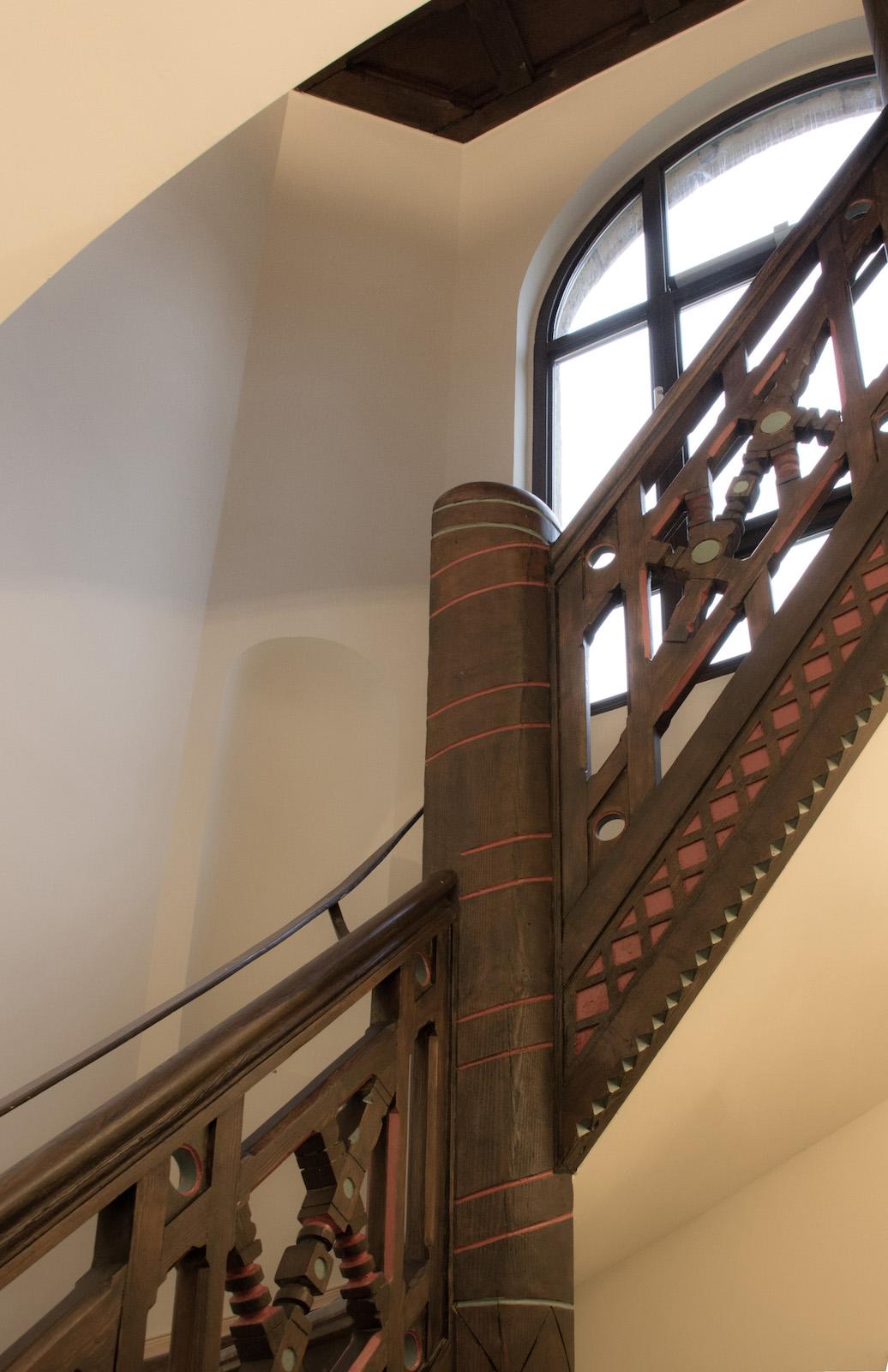 Normannenhaus Treppenhaus